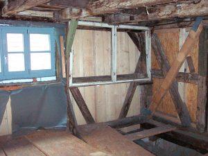 Bestand: Entkernung Sichtmauerwerk