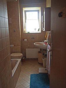 Das alte Duschbad