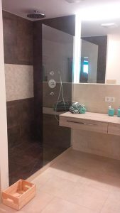 Das fertige Badezimmer